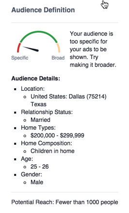 facebook-audience-definition