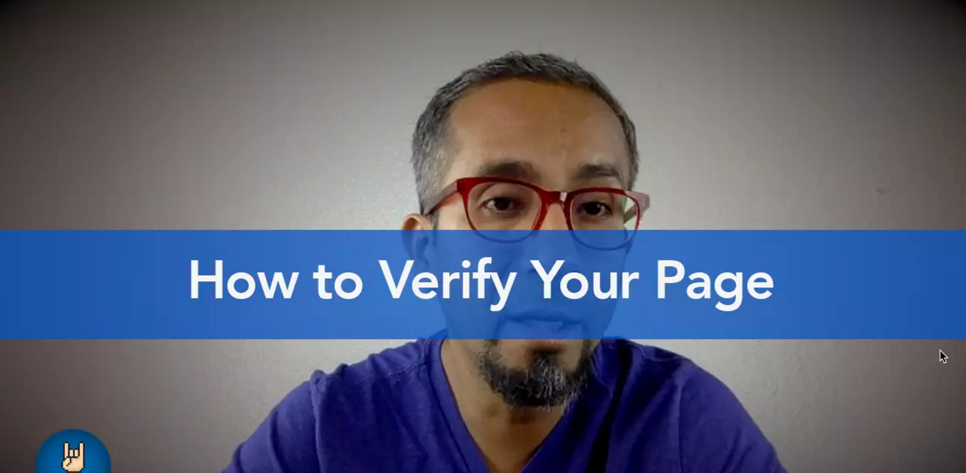 How to Verify Your Facebook Fanpage (And Why You Should Care)
