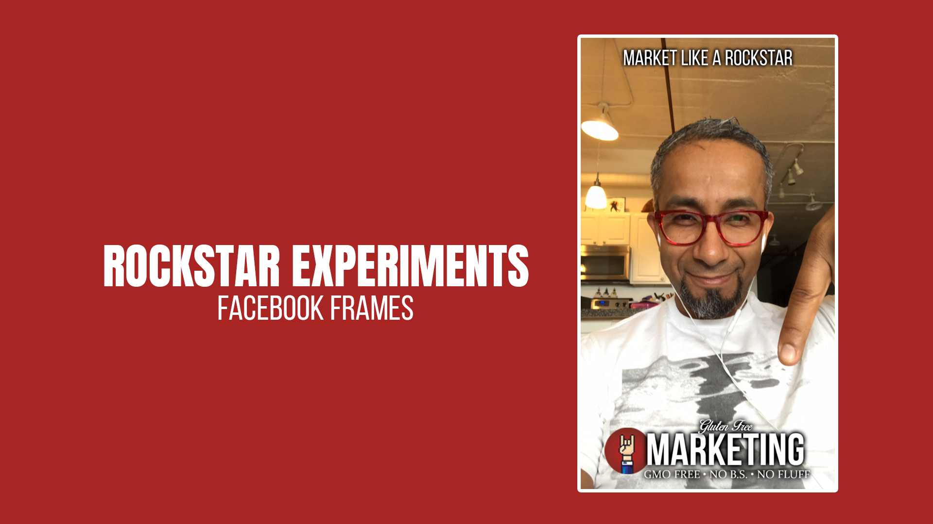 Rockstar Experiment: Facebook Camera Frames