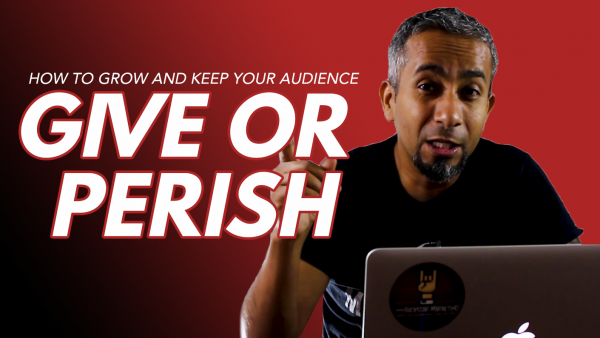 Give or Perish On Social Media